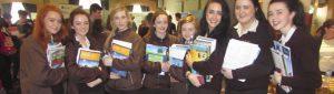 Loreto girls with career books