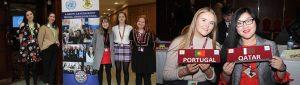 Loreto Letterkenny School girls at Concern Campaign Academy.