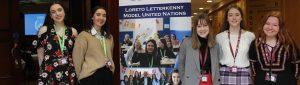 Loreto Letterkenny School girls at Concern Campaign Academy