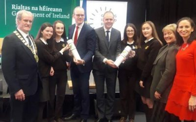 Winners of 2018 Bank Of Ireland National Enterprise Town Awards
