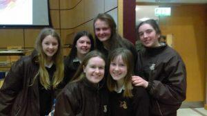 Leaving Cert students Loreto Letterkenny at Irish Science Teachers quiz