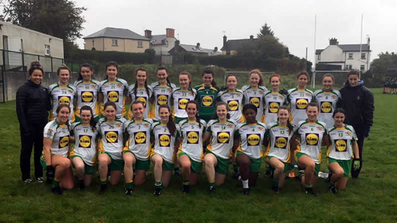 Victorious U20 Gaelic Team