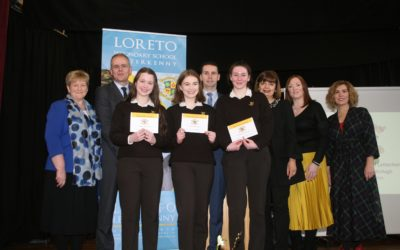 Loreto Letterkenny welcomes back Minister Joe Mc Hugh