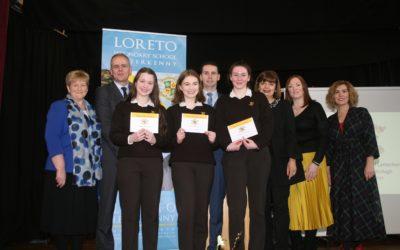 Loreto Letterkenny welcomes back Minister Joe Mc Hugh
