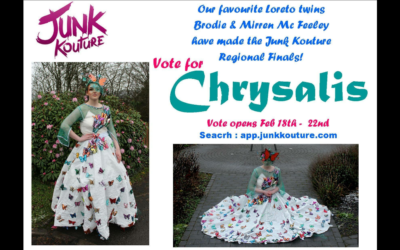 Two Loreto Letterkenny students qualify for regional finals of Junk Kouture