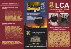 Leaving Cert Brochure